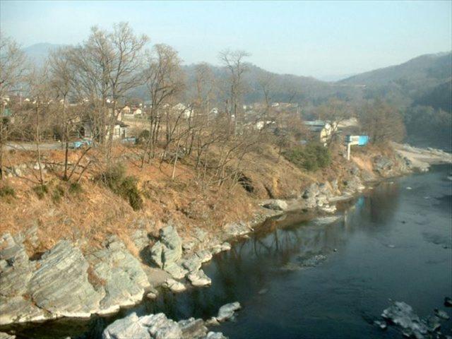敷地と荒川渓谷