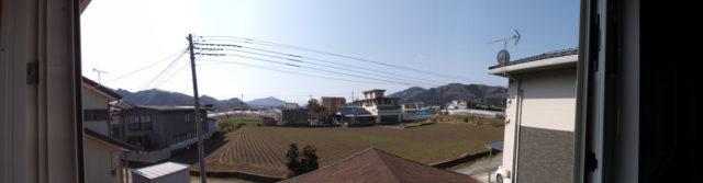 建物からの風景