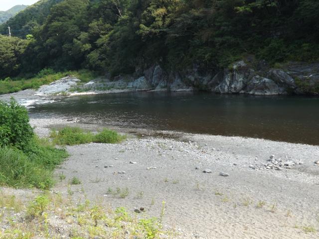 目前の河原